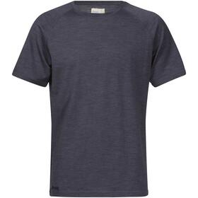 Bergans M's Sveve Wool Tee Night Blue Melange